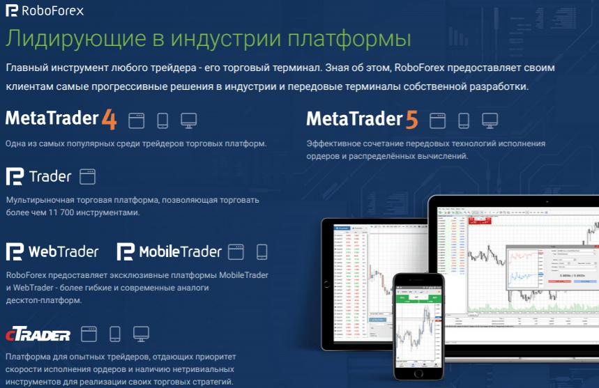 Торговые платформы «Робофорекс»