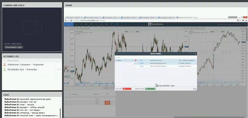 Торговля акциями на Roboforex Stocks