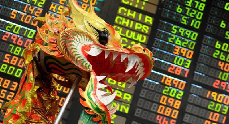 В Азии биржевый рынок работает по своему графику