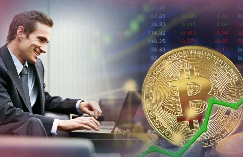 Торговля криптовалютами с брокером бинарных опционов