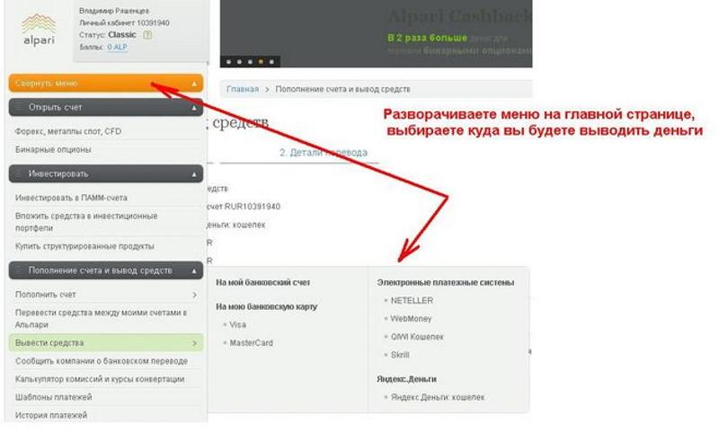 Вывод средств электронные платежные системы